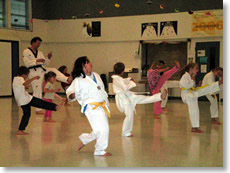 Taekwondo at Mt. Shasta Elementary School