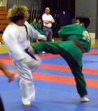 Xia vs. taekwondo black belt -- ouch