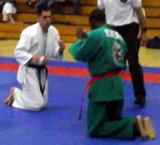 Chris vs. yongmudo black belt