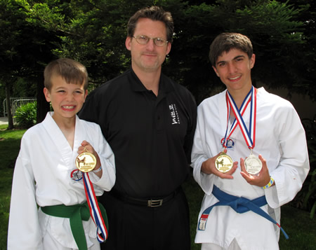 Siskiyou County winners in martial arts tournament