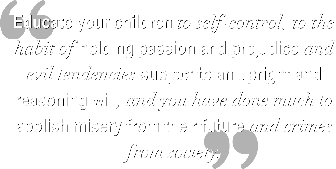 Ben Franklin's Advice on Educating Children